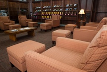 Favorite study spaces