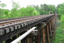 Puentes de madera. Antiguos