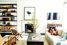 Livingroom |Home inspiration / living room interior idea