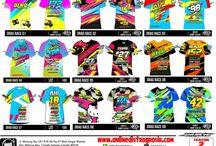 Kaos/Jersey Drag Race