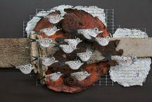 sculpture / poisson d'artiste
