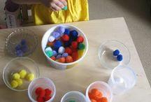 Rainbow ideas for preschool / by Andrea Kelley