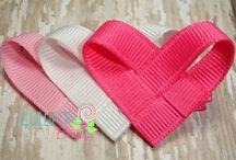 Ribbon & felt crafts