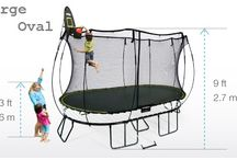 Best Springless Trampolines / do you know whar are springless trampolines? No, well check this out and blow your mind with these beautiful trampolines.