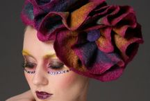 Felted Hats / Beautiful creations made in the techniques of wet felting, nuno felting, needle felting. / by HeartFelt Silks