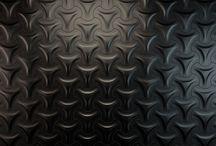Finish it Black / Wallpapers 3D Black parametric wall