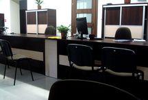 Meble biurowe Nowy Sacz / Meble biurowe wykonane przez firmę Dobosz-Produkcja Mebli dla firm z powiatu Nowy Sącz.