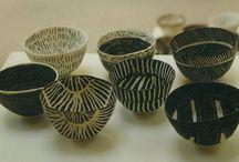 Bekers en kommen keramiek