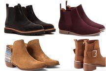 zapatos, botas, chalas, zapatillas