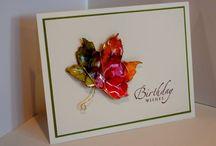 Card Inspriations / by Debora James