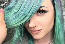 amazing hair cut and colour