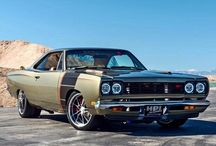 Cars.-muscle cars.
