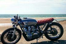 My caferacer bratbike / #Kawasaki #z650 #bratbike #caferacer