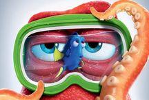 Dory en Nemo