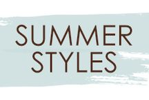 Summer Styles / Not sure what look you want for summer? Use this board for inspiration!