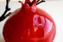 jablko tvar keramika