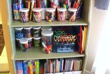Organizing Kids Art