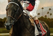 Thoroughbred Horse Racing Art / by Susie Blackmon