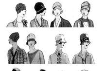 1920 / ropa y sombreros años 20