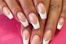 Ballerina Style Nails