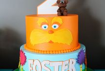 Lorax cake / Lorax party ideas