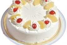 Pineapple Cakes Online with Free Shipping - Zoganto.com / Zoganto offers fresh pineapple cakes online in India and abroad with timely online home delivery at affordable prices.