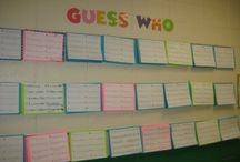 Guess Who / Back to School night display - describe yourself + photo
