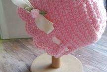 Crochet and others for Babys / Crochet Baby hats, selbstgemachte Häkelmützchen für Babys bis 1 Jahr