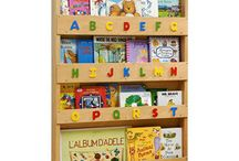 Toy storage ideas / Wooden and fabric toy storage for girls and boys bedrooms