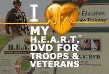 Veterans & Service Members / One of the HeartMath Institute's charitable causes is Military Service Appreciation Initiative.  You can learn more about this on our website. This board's contents is reflective of our outreach and support of veterans, service members and their families.