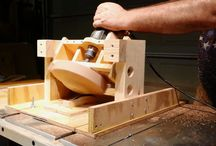 Bowls on table saw