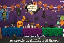Halloween Sims