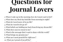 Journal thoughts
