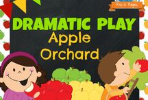 Dramatic Play and Retell Center
