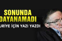 Stephen Hawking den Suriye yazısı