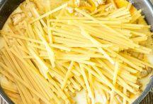 Pasta / by Jessie Nachtigal