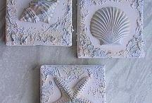Fossili mare / Quadretti