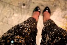 Love the look / Lace, glitter, sequins, leather, studs..