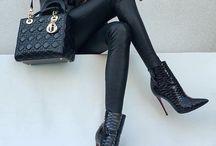 Zwarte stijl