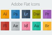 companies using FLAT DESIGN