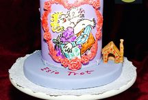ESIO TROT / This is the cake I created for the Roald Dahl celebration. In collaboration with other cake artists from different parts of the world we have chosen a favourite book from his collections and use this as an inspiration in creating a cake masterpiece.