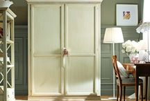 """The 2 door wardrobe in the setting 08 of the """"Desideri"""" Collection / It has the uncanny ability to turn the room into a children's fairy-tale with delicate colours that have all of Tosato's high class design. The wardrobe is designed to be amply spacious with a beautiful mirror on the right hand door. As all Tosato's furniture, this wardrobe is made with excellent quality solid wood. The fire brand trademark and 12-year guarantee are trump cards of Italian designer furniture."""