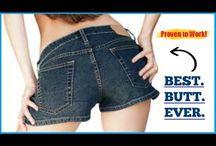 Bigger butt / Bigger butt video  http://www.youtube.com/watch?v=k8KjhjDuIME