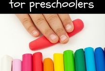 School Early Learning / For the littles: a mix of ideas for learning and fun with preschoolers.