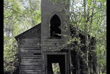 OLD CHURCHES / by Kristi Rogers