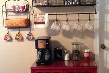 Espaços para o café