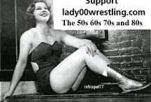 vintage female wrestling