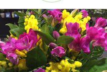 Festa della donna bouquet e composizioni floreali / Composizioni floreali e bouquet per la festa della donna, dove la mimosa è la protagonista.