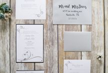 Silver Thermography Invitations