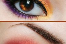 Make-up inspiration orange